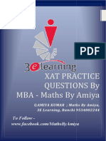 MBA Maths
