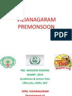Presentation of Premonsoon sowing