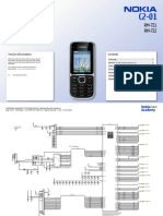 Nokia C2-01 RM-721 722 Service Schematics v1.0