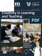 Creativity in Learning and Teaching