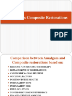 Amalgam vs Composite
