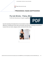 Concrete Sweating - Phenomenon, Causes and Prevention