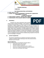 Training Proposal Pc Operation 2019