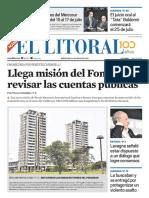 El Litoral Mañana 08/05/2019