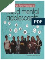 SALUD MENTAL EN ADOLESCENTES compilado ponencias