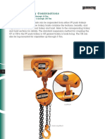 Hoist and Trolley Combinations