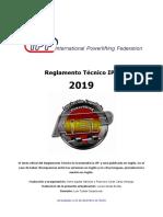 Reglamento Tecnico IPF 2019