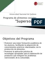 Programa de Alimentos Sociales