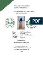 Cjr psikologi pendidikan