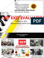 SIP Review