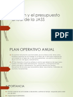 El Plan y El Presupuesto Anual de La Jass