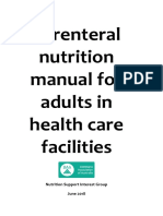 Parenteral Nutrition Manual June 2018 Website