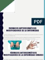 Farmacos Antirreumaticos Modificadores de La Enfermedad