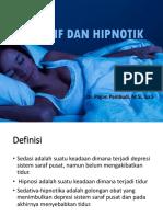 Sedatif Dan Hipnotik