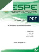 Sig Sistemas de Informacion Geografica