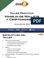 Taller de Wallets y Criptos_abril2019