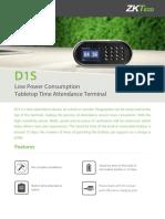 D1S Leaflet
