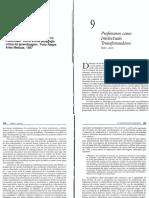Dadospdf.com Giroux h Professores Intelectuais Transformadores