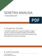 Genetika Manusia