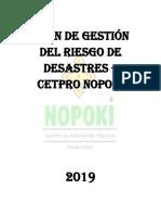 Plan de Riesgo 2019