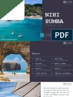 Nihi Sumba Marketing Plan