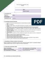 P.A.I TDA-H Formato