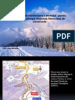Program de monitorizare a mediului   pentru proiectul antropic Staţiunea Rânca,faza de constructie