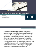 Basic Financial Planning Part 4