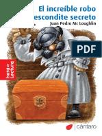 El Increíble Robo Del Escondite Secreto. Juan Pedro Mc Loughlin