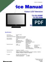 TX-32lxd80 Glp23 Lcd