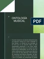 ontologia musical