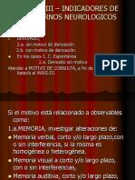 El Wais III _ Ind.de t. Neurologicos