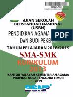 2.b Kunci Jawaban Paket Utama Kur.2006