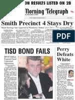 Election Day Headlines