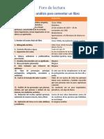 formato reporte de lectura mensual