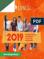 Cronograma Académico y Pago de Pensiones 2019 (1)