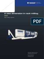 Rack Milling Machine RM