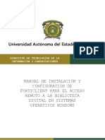 Forticlient Windows Manual Instalacion