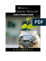 Mastering Wealth the 7 Steps to Financial Freedom 2017 Version