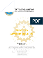 TAREA Proceso Administrativo