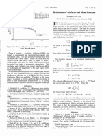 1965-Reduction of Stiffness and Mass Matrices