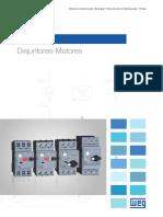 WEG Disjuntores Motores Linha Mpw 50009822 Catalogo Portugues Br