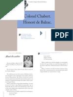 Balzac - Colonel Chabert