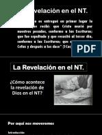 La Revelación en El NT