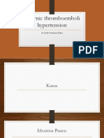 Chornic Thromboemboli Hypertension