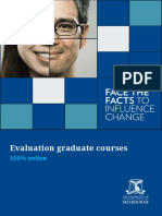 Evaluation Graduate Course Prospectus