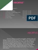 ABORTUS kelompok 3