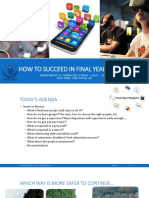 How to Succeed in FYP 2017 - 2018 DCS
