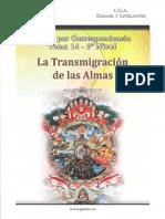 14 La Ley de La Transmigracion de Las Almas(1)