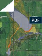 Springbank Dam location map-2016